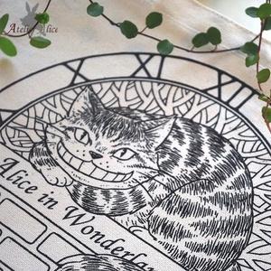 チェシャ猫トートバック(生成り)
