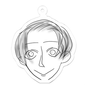 natsuko画伯手描き⭐︎似顔絵キーホルダー