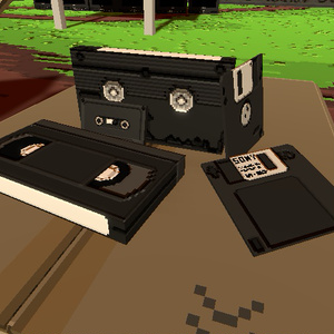 平成セット(フロッピー、VHSテープ、カセットテープ)
