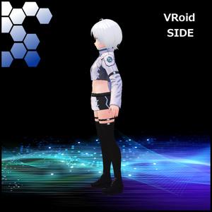 犬子屋【サイバーミリタリーコーデ】VRoid&セシル変身用