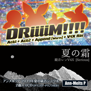 シングルCD『DRiiiiM!!!!/夏の霜』