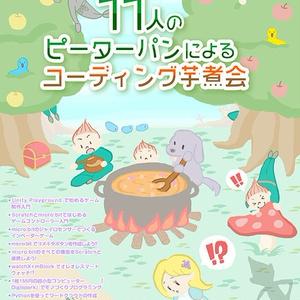 11人のピーターパンによるコーディング芋煮会