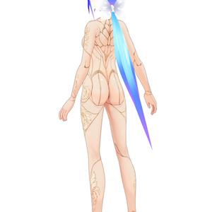 アンティークサイボーグボディ(女性素体用)