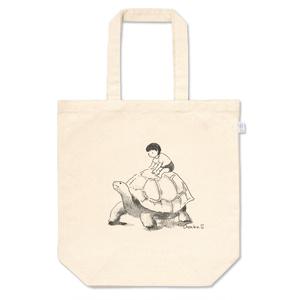 リクガメのトートバッグ