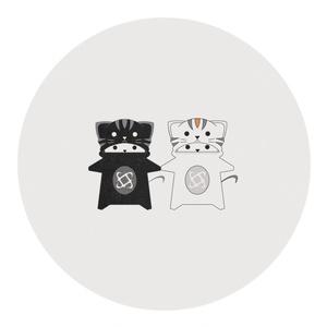 [未定][在庫なし]Black&White Nukoja...