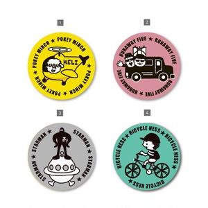 【NEW】マット缶バッチ「COOLシリーズ」〈MOTHER2〉