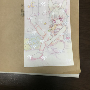 オリジナル手描きイラスト(ポストカード)