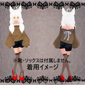【VRoid】現代風の服セット