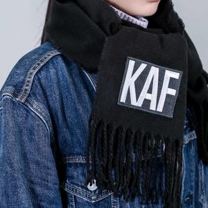 【予約期間:11/8〜11/17限定数生産】KAFロゴタイポマフラー