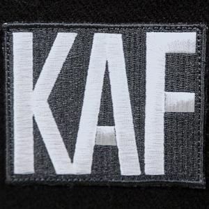 【予約期間:11/8〜11/17限定数生産】KAFロゴタイポスニット帽