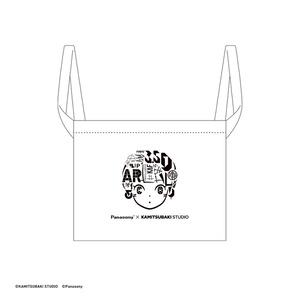 【4/10発売3.5D女の子展グッズ】3.5Dの女の子トートバッグ