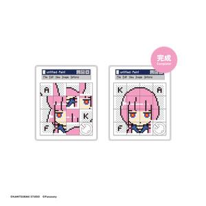 【4/10発売3.5D女の子展グッズ】グリッチ花譜スライドパズル