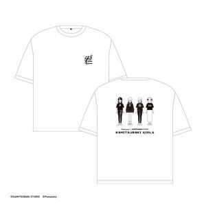 【4/10発売3.5D女の子展グッズ】神椿の女の子Tシャツ
