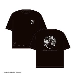 【4/10発売3.5D女の子展グッズ】3.5Dの女の子Tシャツ
