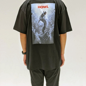 (先行予約:10/7~10/11)「HOWL」Tシャツ【DUSTCELL 2nd ONE-MAN LIVE HOWL】
