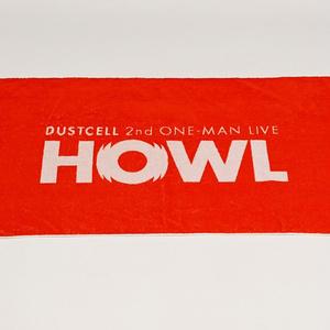 (先行予約:10/7~10/11)「HOWL」大判ジャガードタオル【DUSTCELL 2nd ONE-MAN LIVE HOWL】