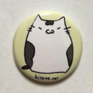 愛猫ざっちゃん缶バッジ