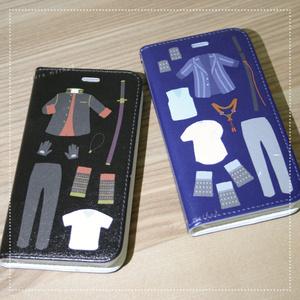 手帳型iPhoneケース(6/6s/7/8対応) 大倶利伽羅