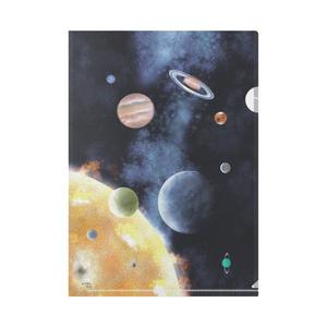 太陽系 A4サイズクリアファイル