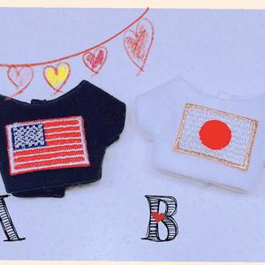 ☆再販9☆アメリカ・日本 Tシャツ