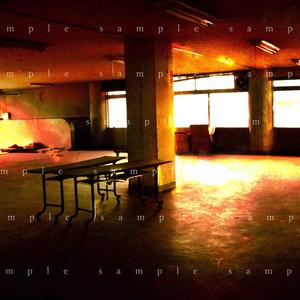 イラスト素材 廃墟の部屋02