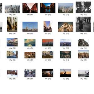 海外の街 素材セット 【jpg 100種類】