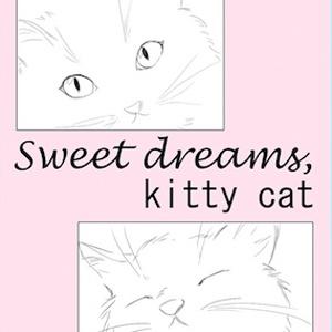 Sweet dreams, kitty cat