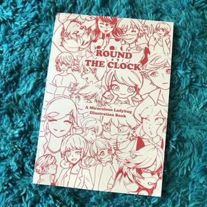 レディバグイラスト本「ROUND THE CLOCK」