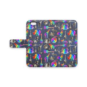 極彩色スマホケース(iPhone5〜7plus対応)