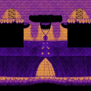 【VRoid用】ハロウィン ワンピース