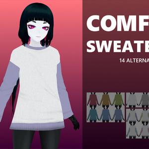 VRoid用テクスチャ - Comfy Sweater -