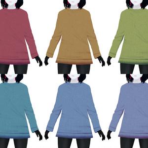 【VRoid用】快適なセーター