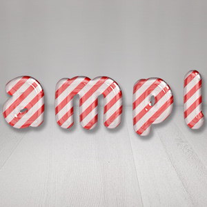 【Candy Cane(Red Stripe)】