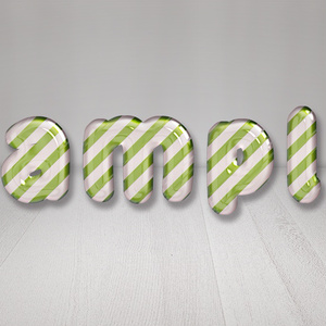 【Candy Cane(Green Stripe)】