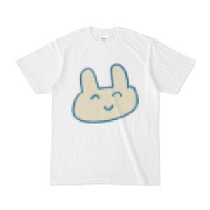 すごい画質の悪いウサギのTシャツ