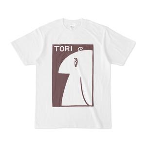鳥のTシャツ