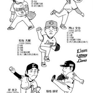 『21世紀プロ野球 エースの系譜』同人誌