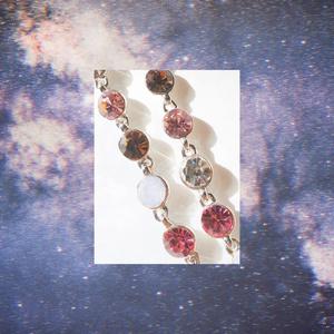 【乱数】ブレスレット -pink drops-