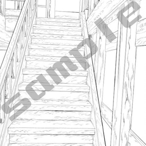 階段アオリ1