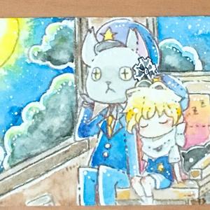 ATCイラスト原画【創作・童話など】