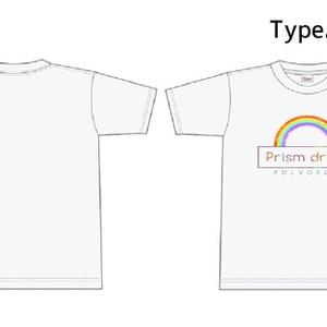 "POLVORON+数量限定Tシャツ ""1stアルバム「Prism drops」発売記念"""