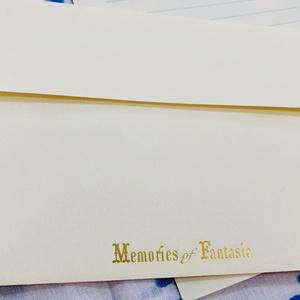 Memories of Fantasia 箔押しレターセット