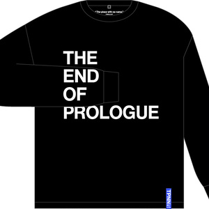 The end of prologue ロングスリーブ音源付きTシャツ
