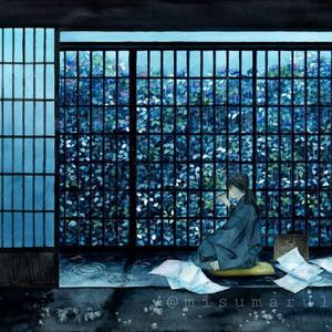 『水彩階梯』クリアポスター