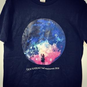 雨情華月1周年ライブTシャツ