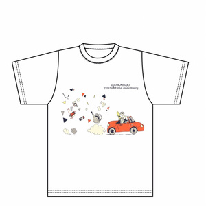 雨情華月Youtube2周年Tシャツ