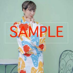 【ダウンロード版】雨情華月&王子まこと 浴衣写真集