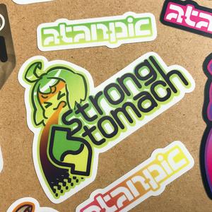 ステッカー:StrongStomach【ビタミン】