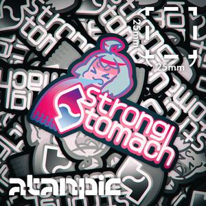 ステッカー:StrongStomach【ネオン】