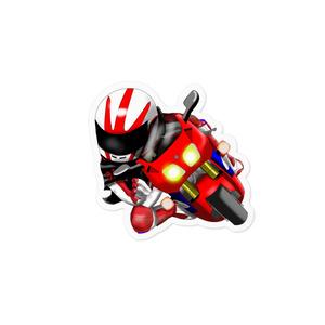 バイク 峠の走り屋ステッカー